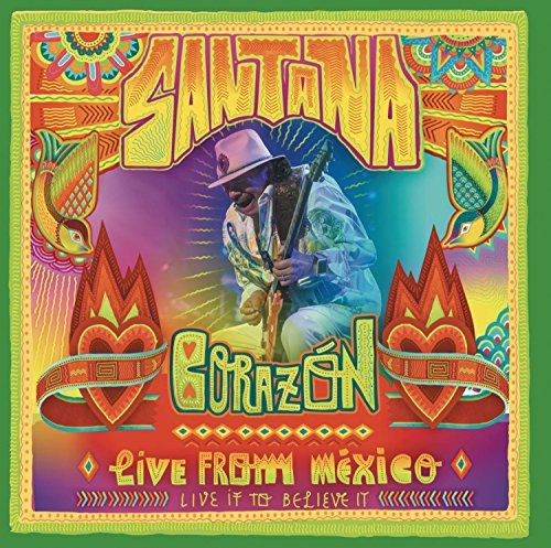 Santana - Corazón: Live From Mexico (+ Audio-CD) [2 DVDs]
