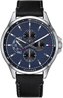 Tommy Hilfiger Men's Multi dial Quartz Watch with Stainless Steel Strap 1791612