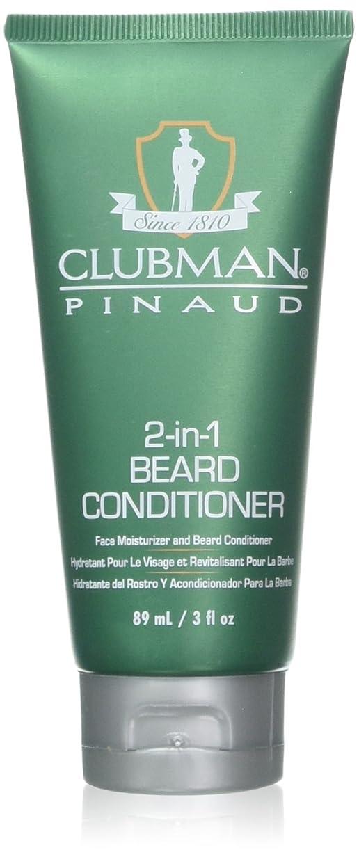 降雨釈義二層Clubman 髭2-IN-1コンディショナー3オンスチューブ(88Ml)(2パック)