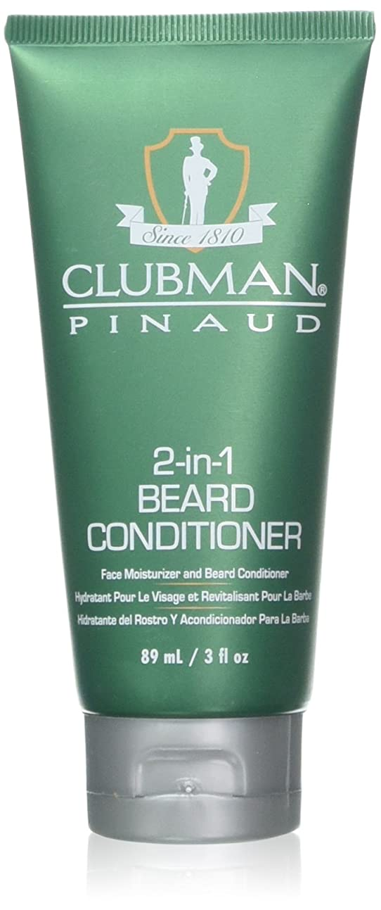 絶えず出演者説得Clubman 髭2-IN-1コンディショナー3オンスチューブ(88Ml)(2パック)