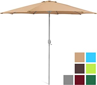 Best Choice Products SKY130 Umbrella B00IFR3EUI, 9ft, Beige