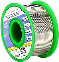 Vivibel L/ötzinn,Bleifreies L/ötdraht L/ötmaterial L/öten Lot L/öt Zinn Flussmittel Draht L/ötmittel Weichlot L/ötung 100g Durchmesser 1mm