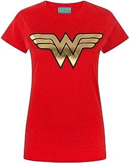 Wonder Woman Foil Women's T-Shirt DC Superhero Ladies Tee