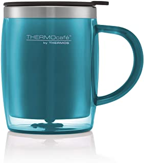 Thermos ThermoCafé Translucent Desk Mug, Lagoon, 450 ml