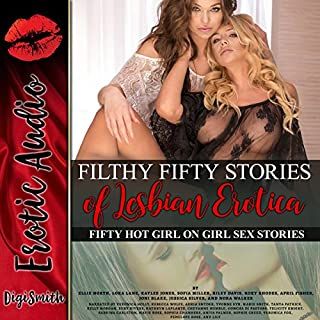 Filthy 50 Stories of Lesbian Erotica cover art