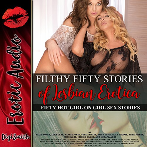 Couverture de Filthy 50 Stories of Lesbian Erotica