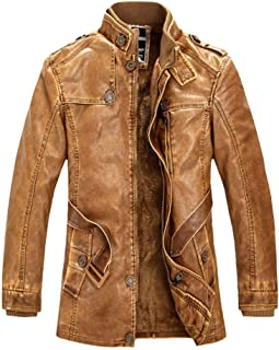 94303e65b 4XL Men's Leather & Faux Leather Jackets | Amazon.com