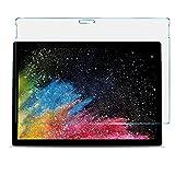 IVSO Schutzfolie Für Surface Book 2 15, 9H Festigkeitgrad, Schutzfolie Glas Panzerfolie Bildschirmfolie Bildschirmschutzfolie Für Microsoft Surface Book 2 15 Zoll Tablet PC, (1 Packungen x)