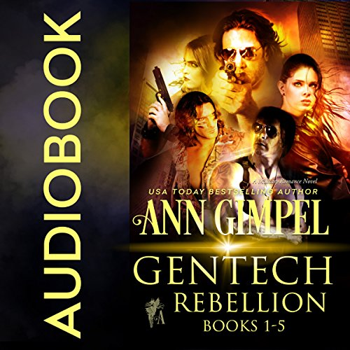GenTech Rebellion (5 Book Series) audiobook cover art