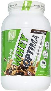NutraKey Whey Optima Protein Powder, Chocolate Lave Cake, 2.2 Pound
