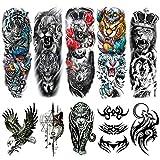 Halloween Decorations Temporary Tattoos 10...
