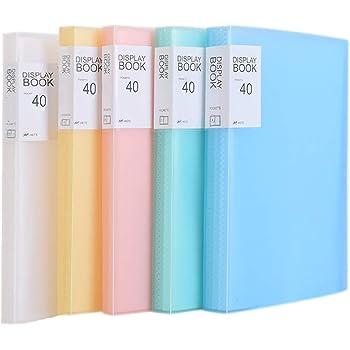 casa Blu per ufficio con 40 buste trasparenti TKD8018 blue Per presentazione e archiviazione di documenti traslucida copertina TUKA-i-AKUT PP Portalistino A4 scuola
