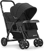 Joovy Caboose Too Graphite Stand-On Tandem Stroller, Black