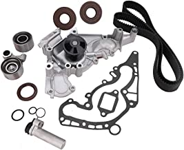 Engine Timing Belt Kit with Water Pump, Fit for Toyota 4Runner Sequoia Tundra & Lexus GS400 LS400 SC400 GS430 LS430 SC430 GS470 LX470 V8 1UZFE 2UZFE 3UZFE Engine, Replace # TKT-021 TKT-001 TCKWP298