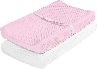 reutilizables 4 colchones cambiadores de microfibra para beb/é lavables y transpirables para pa/ñales