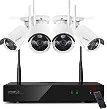 Sponsored Ad - [2020 Dual WiFi 8-CAM 1080p] xmartO Home Security Camera System Wireless with 4X 1080P WiFi IP Cameras for ...