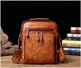 Mens Bag Leather Messenger Bag Shoulder Bag Handbag Bag Leather Men's Bag High capacity
