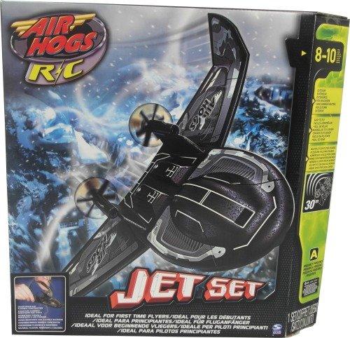 Spin Master Air Hogs 6017157 - Helicóptero teledirigido Jet Set