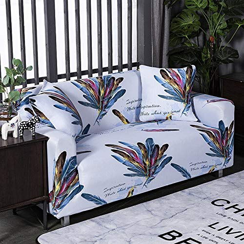 WXQY Funda de sofá Antideslizante elástica Todo Incluido Funda de sofá antiincrustante elástica para decoración de Sala de Estar Funda de sofá A15 1 Plaza