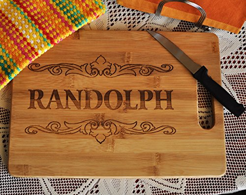 Custom Cutting Board - Wood Engraved Cutting Board - Personalized Bamboo Cutting Board - Small Cutting Board