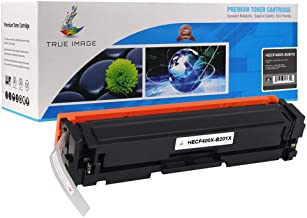 TRUE IMAGE Compatible Toner Cartridge Replacement for HP 201X ( Black )