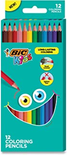 BIC BICBKCP12AST Coloring Pencils44; Assorted Color - Pack of 12