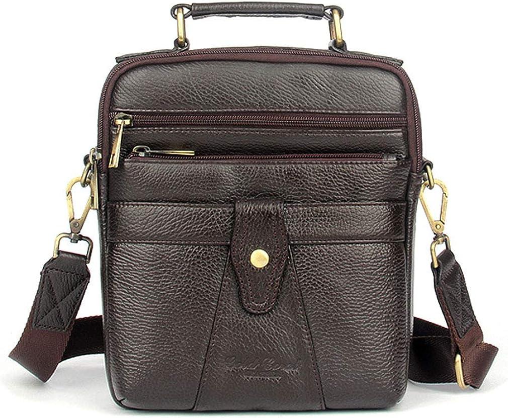 Leather Shoulder Very popular! Messenger Ranking TOP7 Bag Handbag Business Travel Men D for