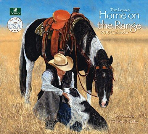 Legacy Publishing Group 2016 Wall Calendar, Home on The Range (WCA19521)