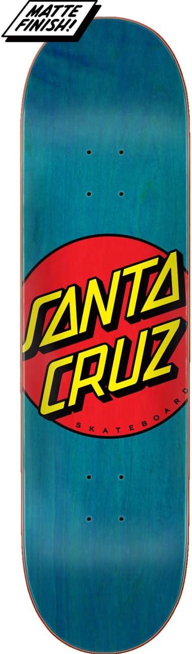 Santa Cruz <セール&特集> Skateboard Deck Classic x Dot Blue 高品質 8.5