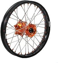 Protrax Complete Rear Wheel 19-by-1.85 inch Orange