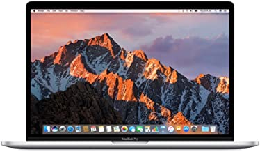 Apple 15in MacBook Pro, Retina, Touch Bar, 2.8GHz Intel Core i7 Quad Core, 16GB RAM, 256GB SSD, Silver, MPTU2LL/A (Renewed)