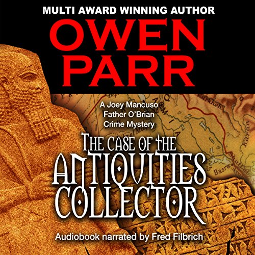 The Case of the Antiquities Collector audiobook cover art