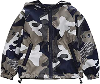 TTLOVE/_Baby Junge Jacke Winter Herbst Camouflage-Sweatshirt Mit Kapuze Warm Baumwolle Steppjacke Kapuze Jacke Wind Mantel Kleidung