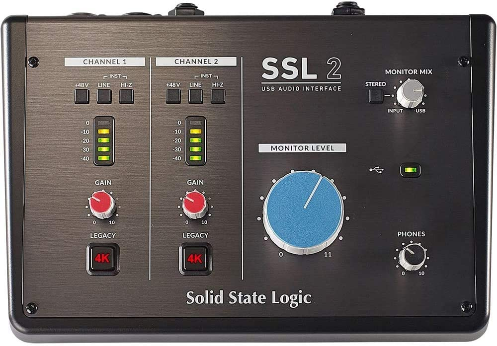 Challenge the lowest price of Japan ☆ SSL2 USB Audio Interface Translated