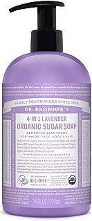Dr. Bronner's Soap, Lavender, 24-Ounce Pump Bottle