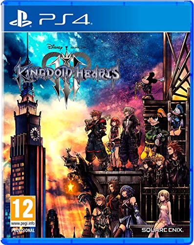 JUEGO SONY PS4 KINGDOM HEARTS 3 STANDARD EDITION