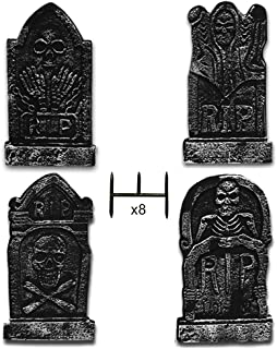 Best halloween yard tombstones Reviews