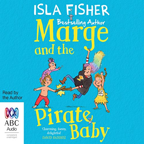 Marge and the Pirate Baby audiobook cover art