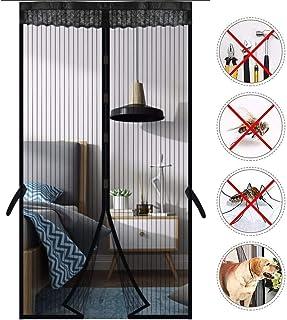 Antykomarowa magnetyczna moskitiera drzwi chronią przed owadami przed drzwiami ekran łatwy w instalacji bez wiercenia uszc...