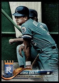 Baseball MLB 2018 Topps Update Short Print Variations #US76 George Brett SP Royals