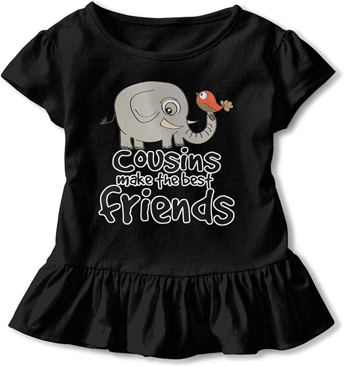 Cousins Make The Best Friends Baby Skirts Adorable Kids T Shirt