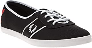 Fred Perry Aubrey Amy Tricot Womens Sneakers Black