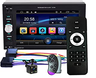 """Double Din Car Stereo Bluetooth Car Radio with 6.2""""HD Digital Touch Screen Car MP5 Player FM Radio Support SWC Mirror Link... photo"""