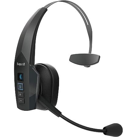 Jabra Blueparrott New B350 Xt Mono Bluetooth Over Ear Headset 24 Stunden Gesprächszeit Mit Voicecontrol Für Unterwegs Und In Lärmintensiver Umgebung Schwarz Elektronik