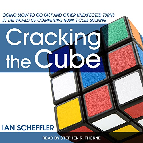 Cracking the Cube audiobook cover art