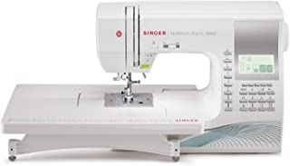 SINGER | Quantum Stylist 9960 Computerized Portable Sewing Machine with 600-Stitches..