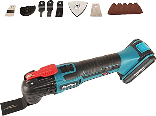 lowest 21V new arrival Cordless Oscillating Power Tool with 1.5Ah Battery high quality 22Pcs Accessories for Sanding, Trimming, Cutting Wood, Plastic, Metal, 6-Speed 20000RPM 4 Degree Oscillation Angle sale