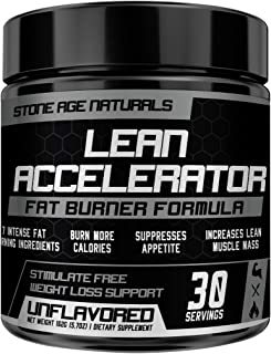 Lean Accelerator - The First Muscle-Toning Fat Burner Thermogenic Weight Loss Supplement - Keto Friendly, Appetite Suppressant - for Men and Women - Protein & Pre-Workout ENHANCER