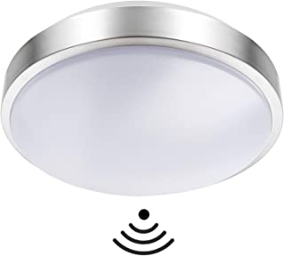 Lineway Lamparas de Techo LED Radar de Movimiento Detector de Movimiento 15W 6000K Luz Automática Sensor