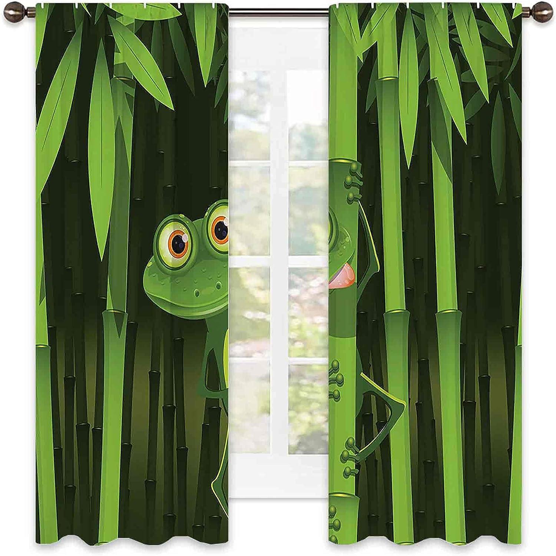 Animal Decor Heat Insulation Curtain of Illustration Alternative dealer Frie Ultra-Cheap Deals Funny